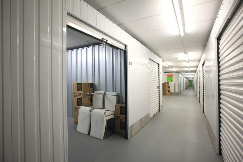 interior Ready Steady Store storage units