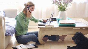 Tips on running a business from home