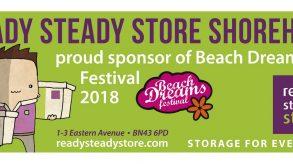 Ready Steady Store Shoreham is Sponsoring Beach Deams