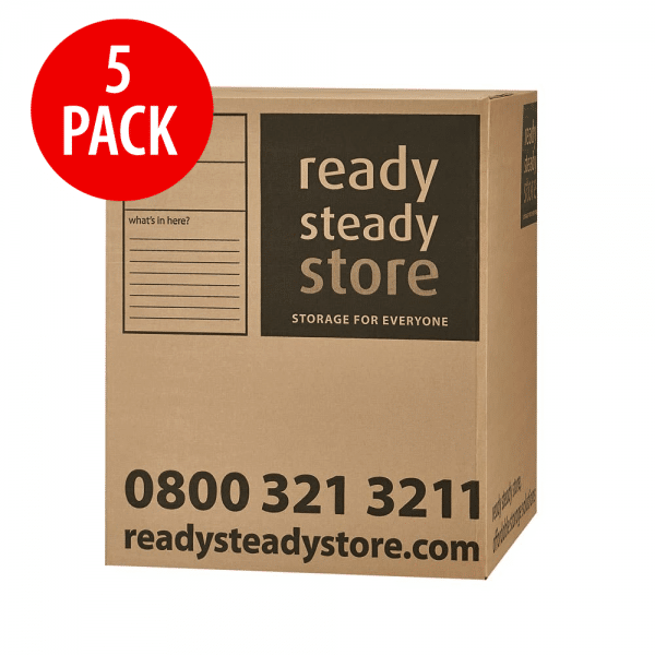 large box min 5 pack