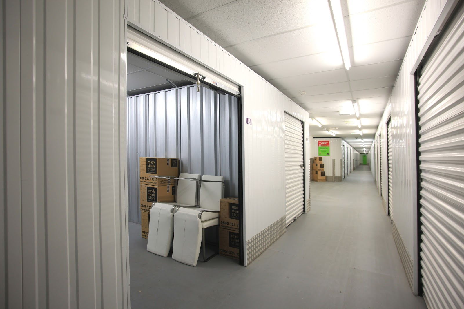 interior of ready steady store storage units