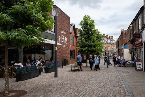 Centre of Altrincham, Greater Manchester
