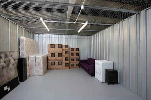 interior: self storage unit
